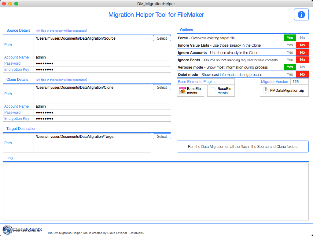 DM Migration Helper Tool